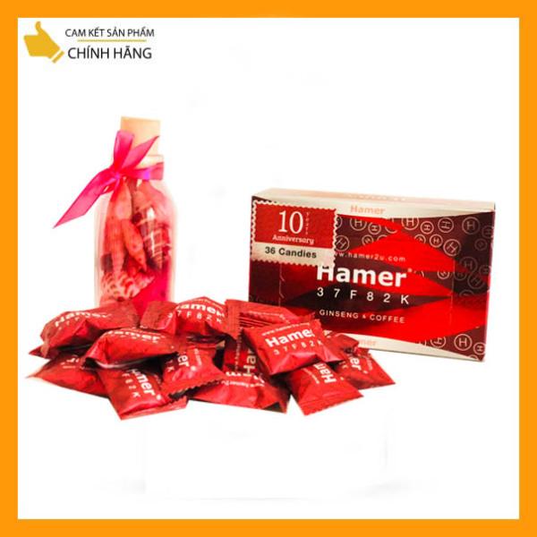 [HCM]Hộp 36 viên Kẹo Sâm Hamer Ginseng [chuẩn auth date 2024] Mạnh Hơn Xtreme Candy - Tăng Cường Sinh Lí Nam Giới -  Chính Hãng cao cấp