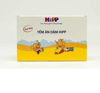 : Yếm ăn dặm HiPP organic nhập khẩu từ Đức