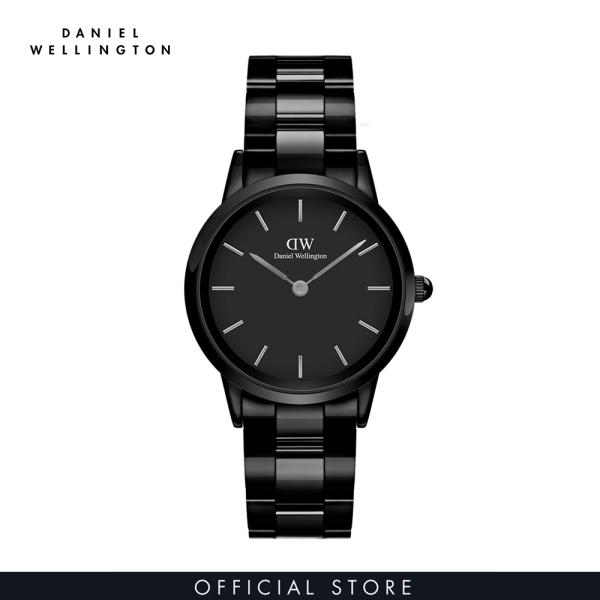 Đồng hồ Nữ Daniel Wellington dây ceramic - Iconic Ceramic màu đen