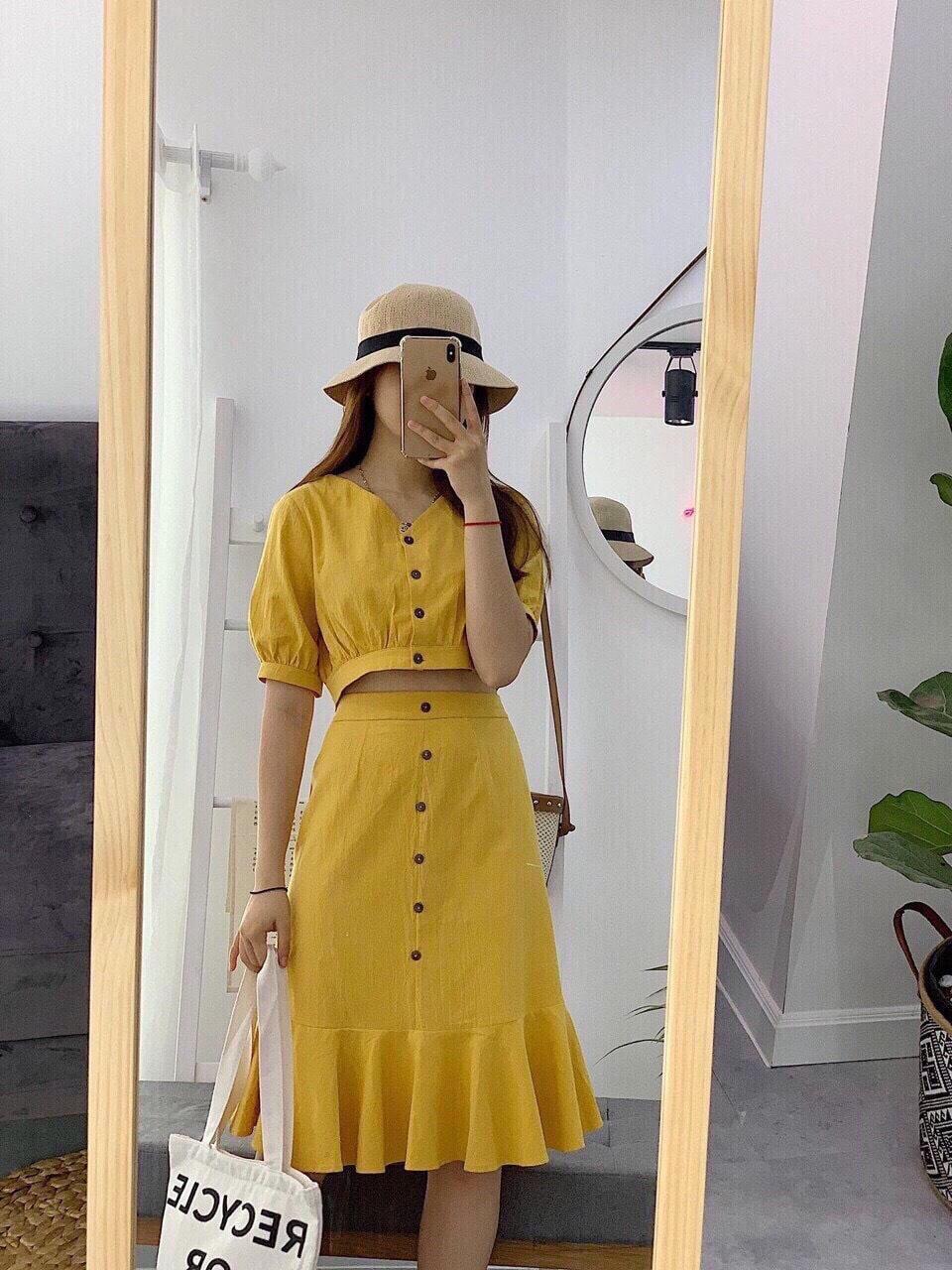 Sét Váy Kate đuôi Cá-MTB Đang Khuyến Mãi
