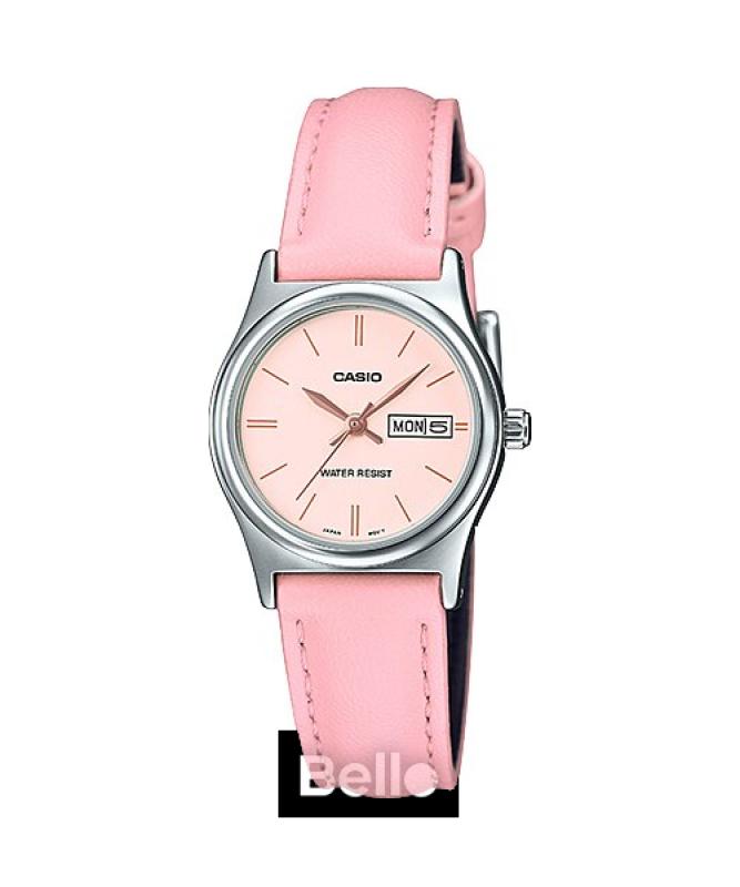 Đồng hồ Casio Nữ LTP-V006L-4B bảo hành chính hãng 1 năm - Pin trọn đời
