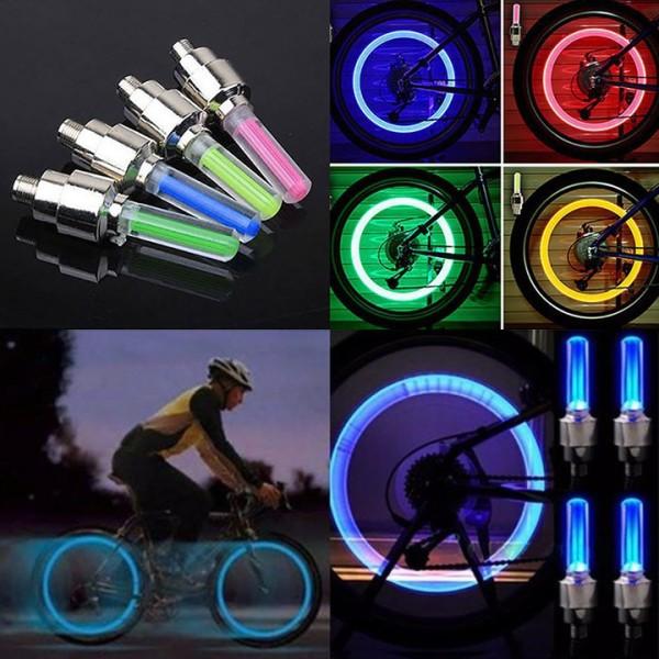 (Video Review) Đèn LED Neon Gắn Bánh Xe Đạp - Xe Máy - Ô Tô - Mới Nhiều Kiểu LED