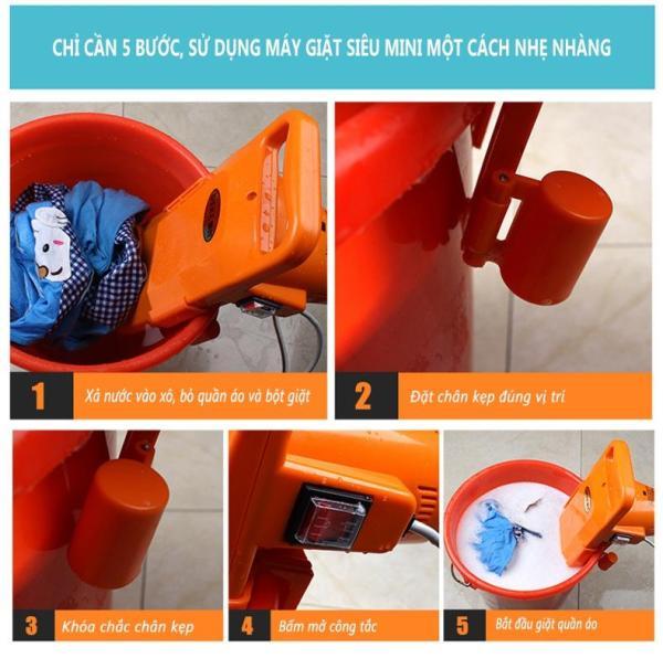 Bảng giá Máy giặt mini cỡ nhỏ DEKE. Máy giặt di động mini cho những chuyến du lịch, dã ngoại Điện máy Pico