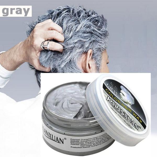 Sáp vuốt nhuộm tóc tạm thời KALANXUAN hàng chính hãng FREESHIP TOÀN QUỐC lên màu nhanh, giữ màu tốt ( xám khói, trắng kim, xanh dương, đỏ, tím, vàng) (KHUYẾN MÃI 3 NGÀY) giá rẻ