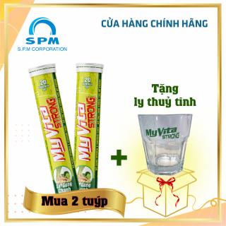 Viên sủi MyVita Strong (Sả-Gừng-Chanh) - Bổ sung Vitamin C, nhóm Vitamin B và Kẽm - Tăng cường đề kháng - Tuýp 20 viên thumbnail