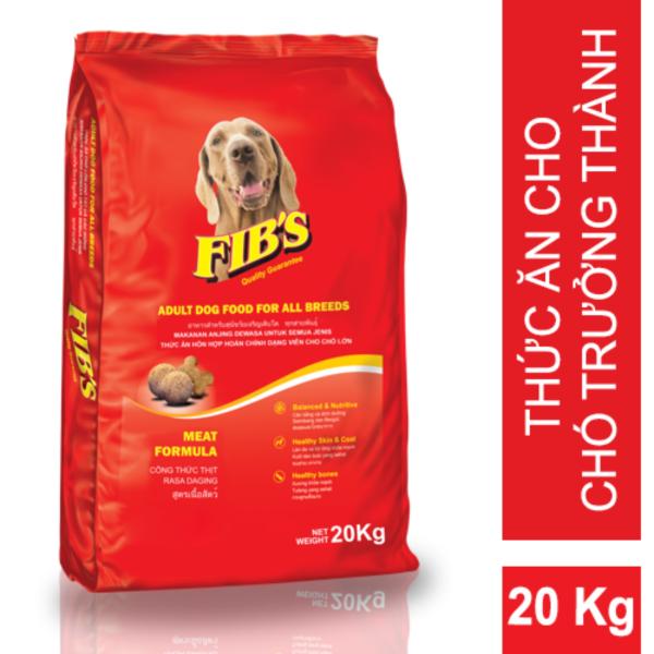 Thức ăn cho chó trưởng thành Fibs 20kg