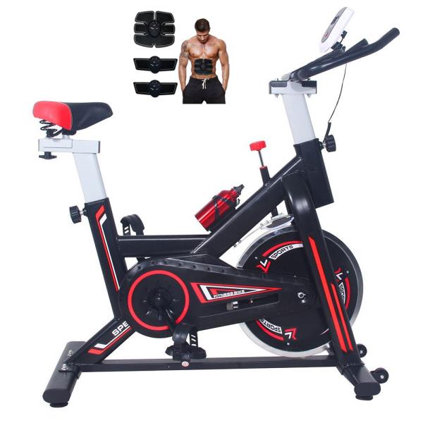 [Lấy mã giảm thêm 30%]Xe Đạp Tập Thể Dục Tại Nhà Spin Bike MK207 + Tặng Máy Massage Xung Điện