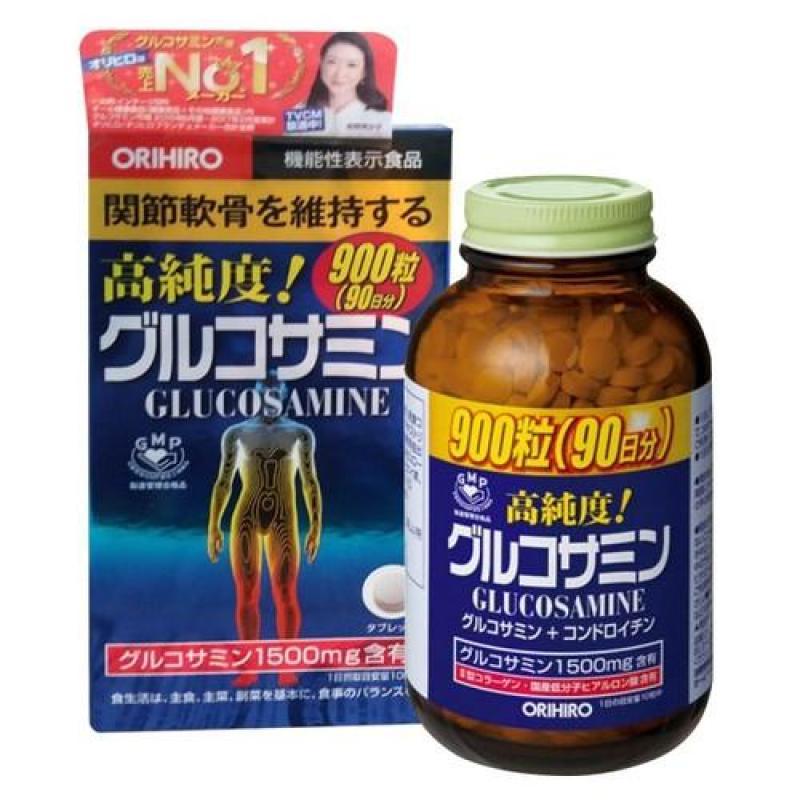 Viên xương khớp Glucosamine Orihiro 1500mg 900 viên Nhật Bản