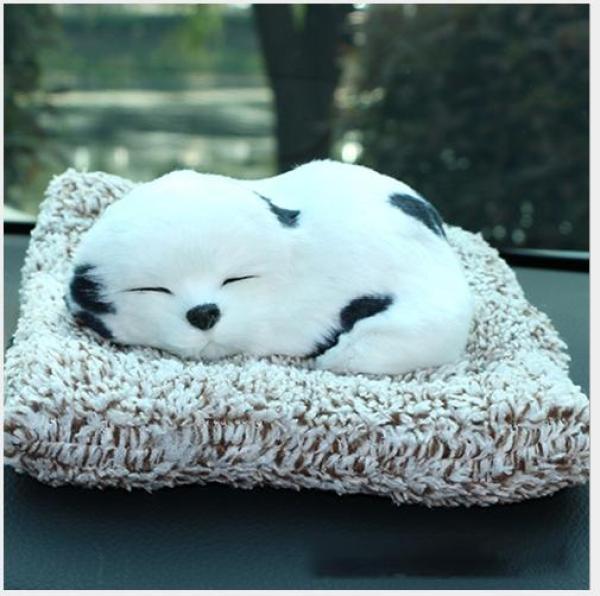 Chó bông than hoạt tính nano để oto, để bàn làm việc, trang trí phòng khách