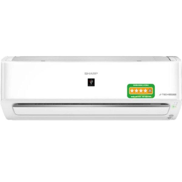 Máy lạnh - Điều hòa Sharp 1 chiều Inverter 9000BTU 1 HP AH-XP10YHW - Công nghệ J-Tech Inverter và chế độ Eco - Hàng chính hãng - Bảo hành 12 tháng