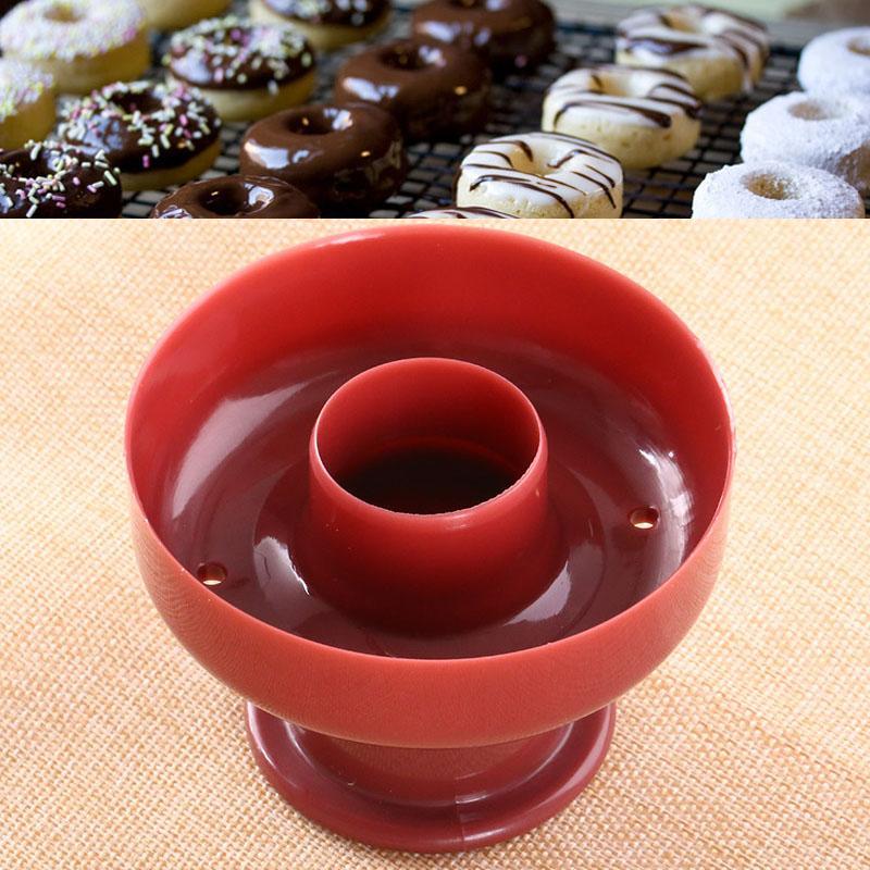 Qearl Shop Donut Mould Baking DIY Cutter Doughtnut Tool Kitchen Gadgets Cake Mold