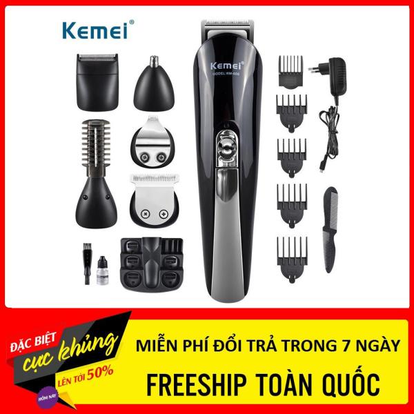 [ TẶNG 2 KÉO + BỘ LẤY RÁY TAI]- Tông đơ kemei Km600 - Cắt tóc chuyên nghiệp cao cấp