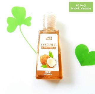 [HCM]Gel rửa tay khô 3k (60ml) Lamcosmé-COCONUT hương dừa thumbnail