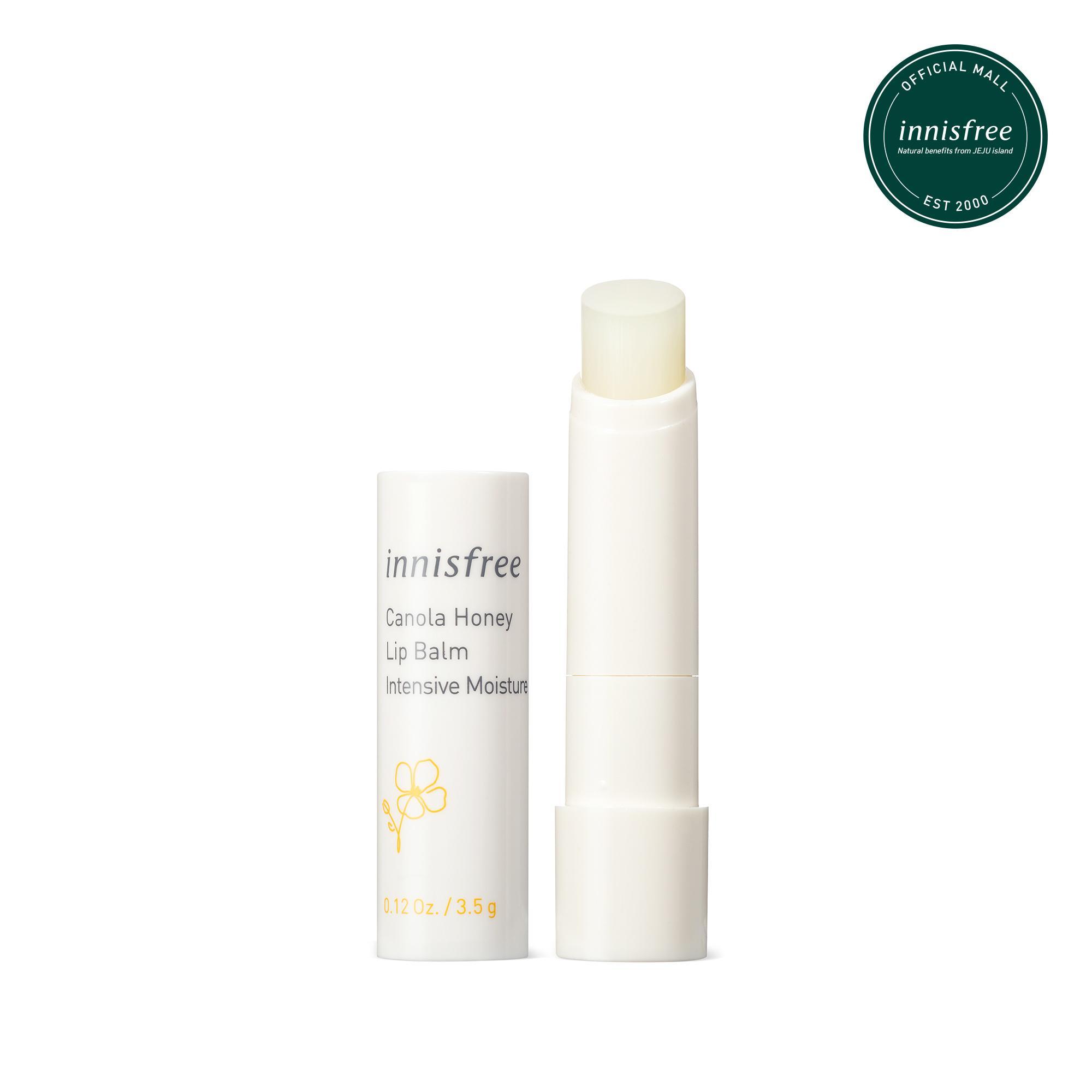 Son dưỡng môi không màu innisfree Canola Honey Lip Balm Deep Moisture 3.5g cao cấp