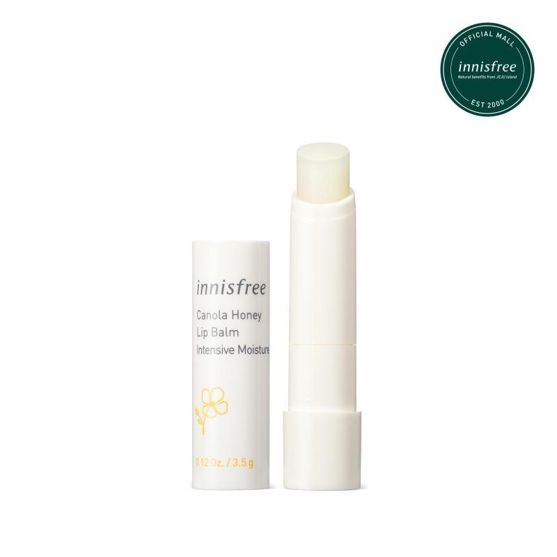 Son dưỡng môi không màu innisfree Canola Honey Lip Balm Deep Moisture 3.5g giá rẻ