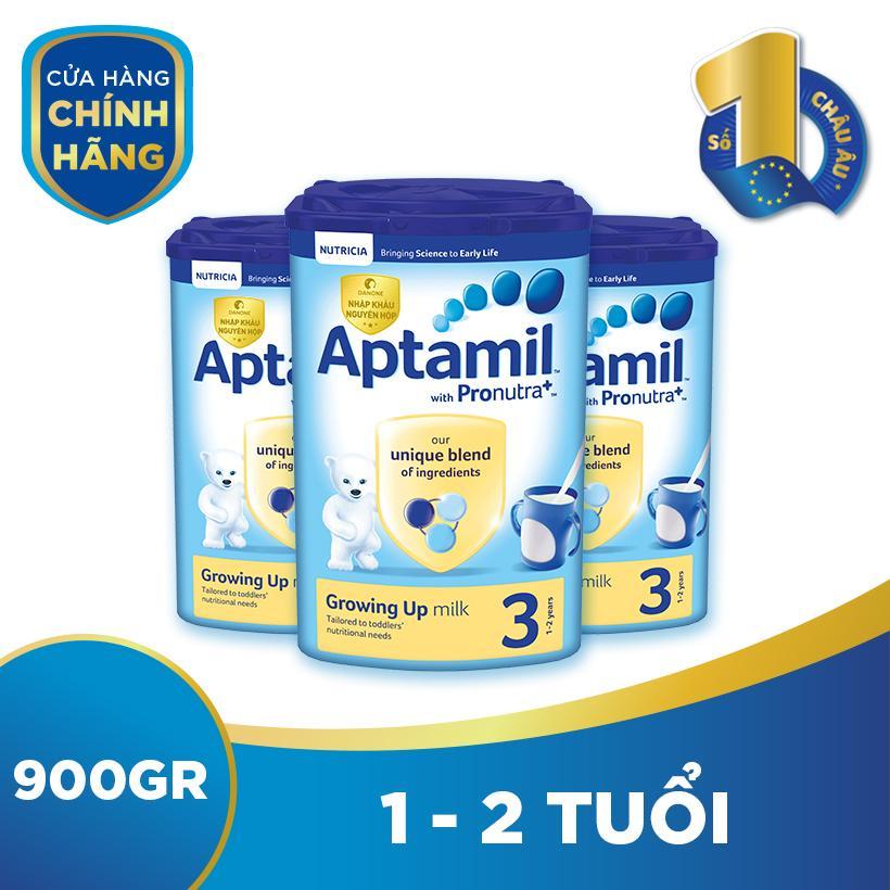Bộ 3 hộp sữa bột công thức Aptamil số 3...