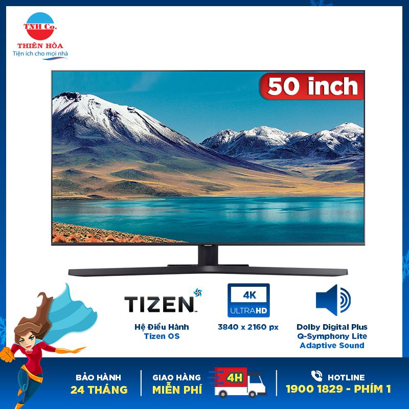 Smart Tivi Samsung 4K 50 inch UA50TU8500 KXXV chính hãng