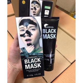 Mặt Nạ Lột Mụn Than Tre Black Mask Charcoal 120g thumbnail