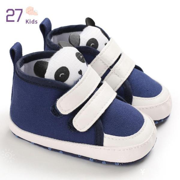 Giá bán 27 Trẻ Em Em Bé Bé Gái Giày Giản Dị Giày Đế Mềm Bé Trai Nụ Cười Sao Miếng Dán Ma Thuật Chất Liệu Da PU
