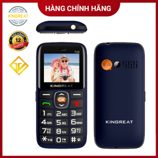 Điện thoại Kingreat T28 - Loa to - 2 sim - Hàng chính hãng - Bảo hành 12 tháng thumbnail