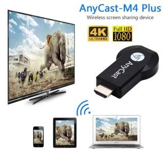 HDMI KD ANYCAST M4PLUS - Kết Nối Điện Thoại Với Tivi Cực Dễ - Full HD 1080P - HDMI không dây hỗ trợ 3G 4G 5G WIFI - Thiết bị phát tín hiệu HDMI không dây Anycast M4 Plus. 2