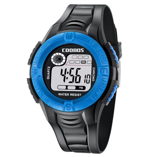 Nơi bán [CÓ 3 MÀU] Đồng hồ trẻ em Đồng hồ bé trai không thấm nước Coolbos và có đèn Đồng hồ điện tử trẻ tiểu học và trung học