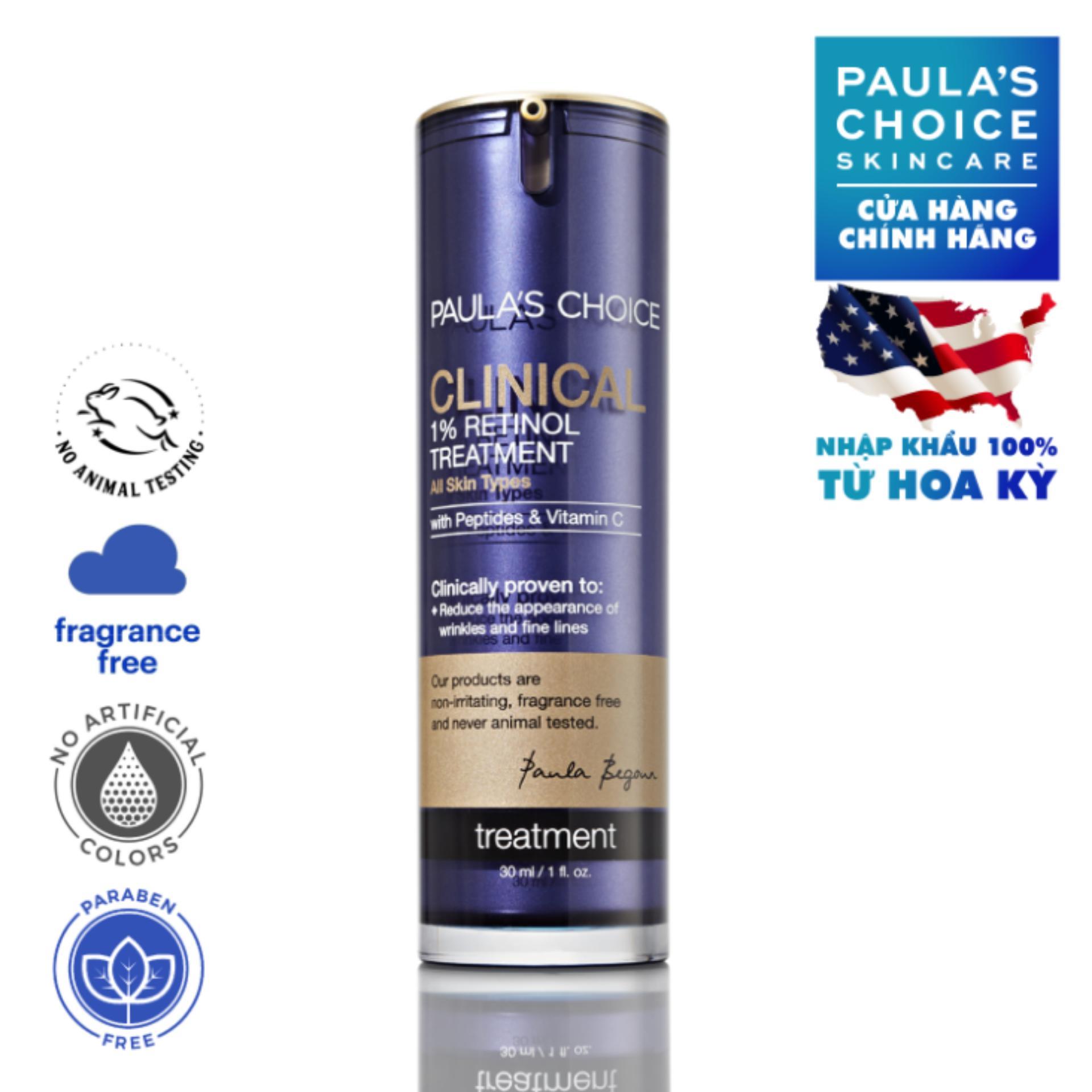 Tinh chất điều trị độc đáo 1 Retinol Paula's Choice Clinical 1% Retinol Treatment 30 ml chính hãng