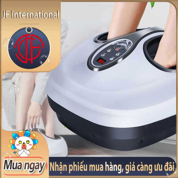 Máy massage chân có túi khí JIASHENGDA ấn bóp điểm huyệt chườm nhiệt nóng xoa bóp bàn chân - JF International