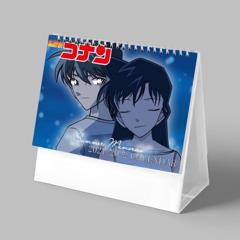 (Lịch 2021-2022) Lịch Conan Thám Tử Lừng Danh in ảnh đẹp anime chibi lịch để bàn