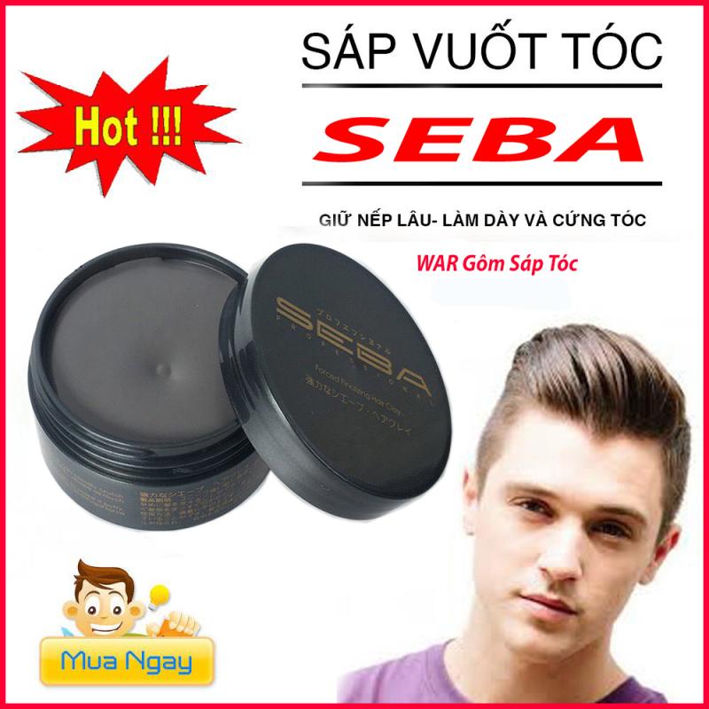 Sáp vuốt tóc nam nữ SEBA  tạo kiểu giữ nếp cao cấp chính hãng giá rẻ