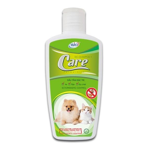 [HCM]Sữa Tắm Bio Care Trừ Ve Rận Bọ Chét Chó Mèo 200Ml