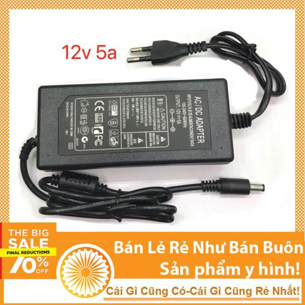 Nguồn 12v 5a adapter ( loại liền dây)