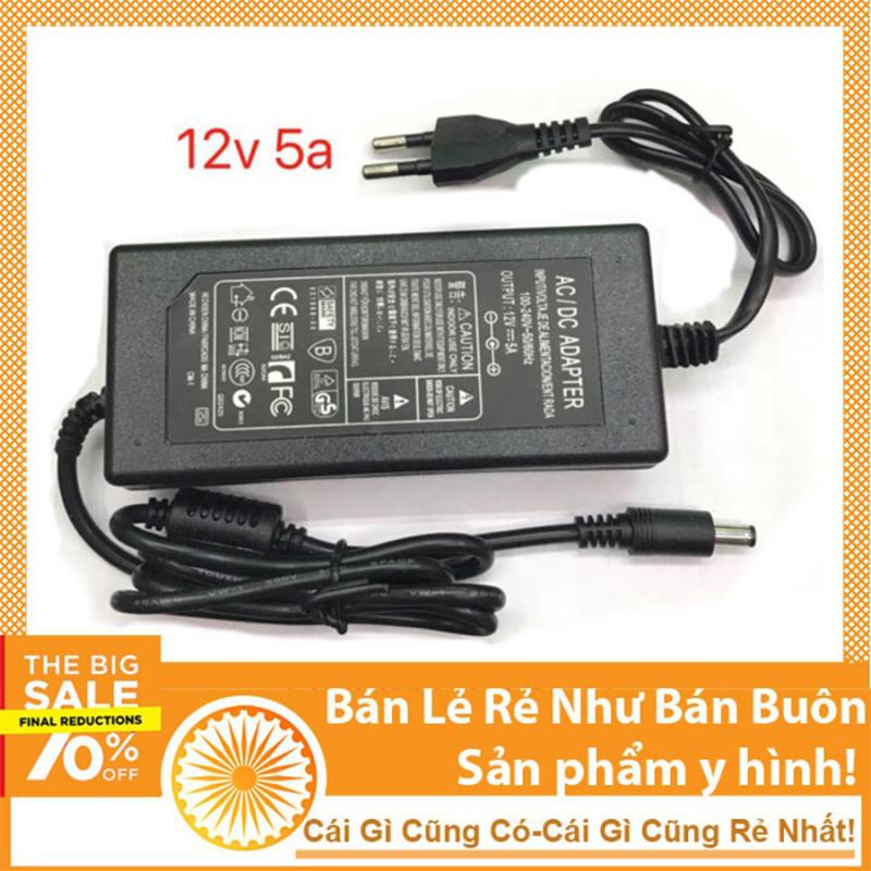 Bảng giá Nguồn 12v 5a adapter ( loại liền dây)
