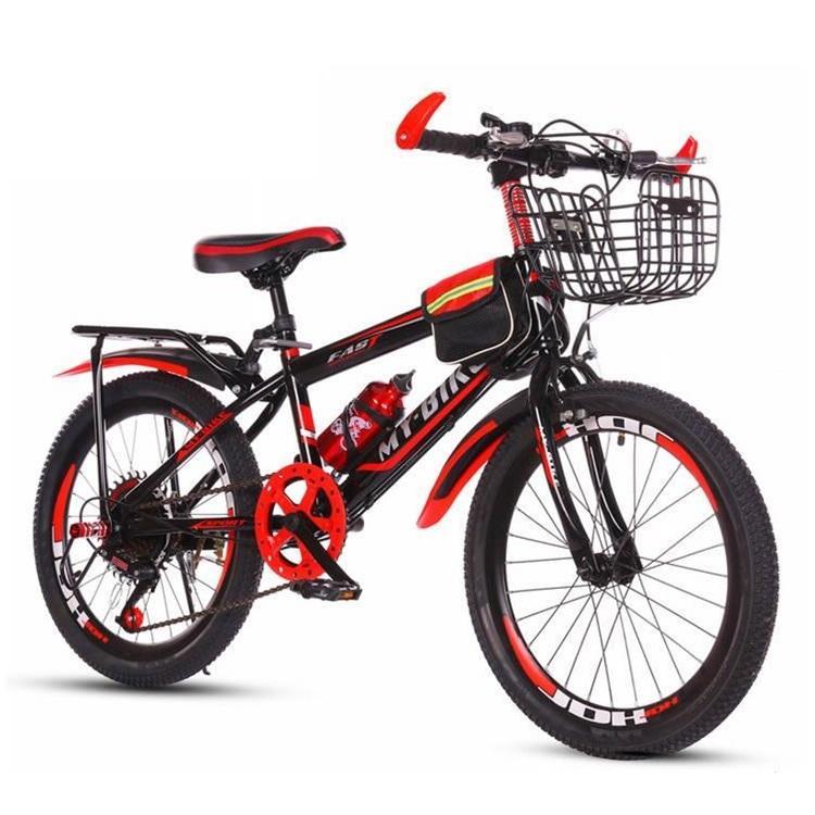 Mua Xe đạp trẻ em Size 20 kiểu dáng thể thao cho bé 6-13 tuổi (Đỏ, Xanh)