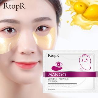 RtopR xoài vitamin C dưỡng ẩm chống lão hóa da mắt serum miếng dán mắt vitamin C Hydrating màu vàng chăm sóc loại bỏ nếp nhăn và quầng thâm - INTL thumbnail