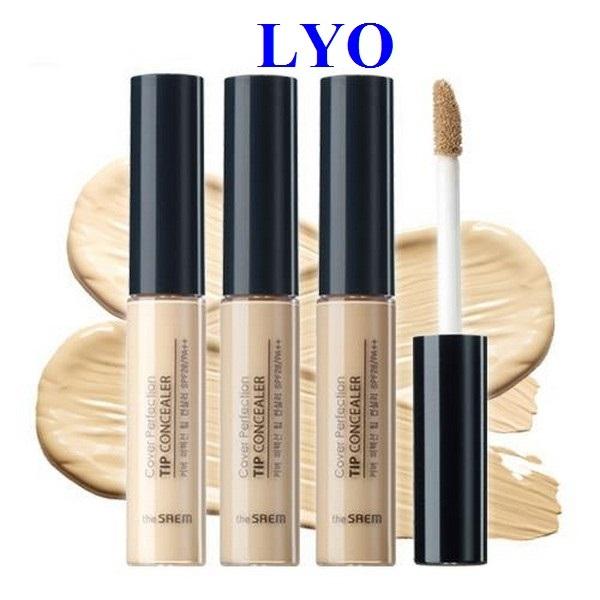 Kem Che Khuyết Điểm The Saem Cover Perfection Tip Concealer - Lyo shop giá rẻ