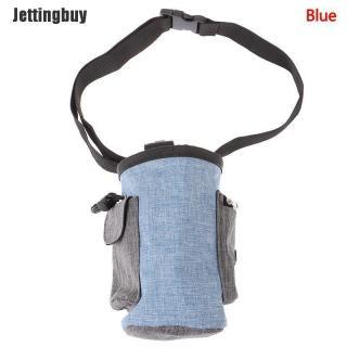 Jettingbuy Pet Dog Cat Đào Tạo Ngoài Trời Eo Túi Puppy Mồi Điều Trị Snack Túi Đựng Thực Phẩm Màu Xanh thumbnail