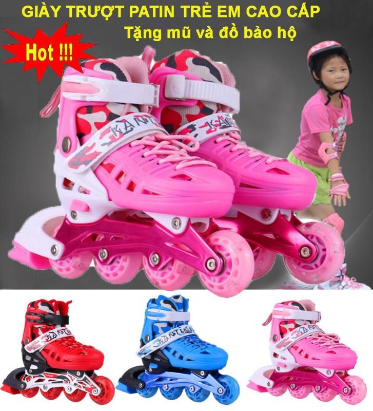 Phân phối Giày Trượt Patin Nào Tốt, Giày Trượt Patin Trẻ Em Cao Cấp Mẫu Mới 2020 ( Tặng Kèm Bộ Bảo Vệ Tay Chân Và Mũ Bảo Hiểm ), Shop Giày Trượt Patin Trẻ Em | Uy Tín - Giảm sốc NGAY TRONG HÔM NAY 50%