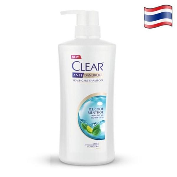 Dầu Gội Clear Bạc Hà Nhập Khẩu Thailand -480ml/chai giá rẻ