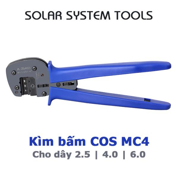 Kìm bấm cos MC4 chuyên dụng cho hệ thống điện năng lượng mặt trời