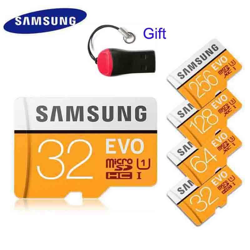 Giá Tiết Kiệm Khi Sở Hữu Authentic EVO 32G 64G 128G 256G 512G 1024G Memory Micro SD Card XC Class 10 512GB 1TB 1024GB + Free Reader
