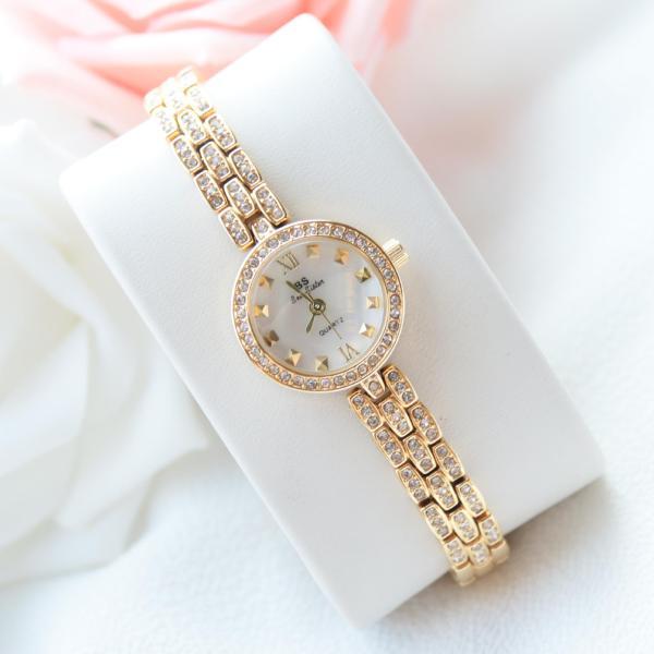 [HCM]Đồng hồ nữ BS Bee Sister FA1418 đính đá thời trang