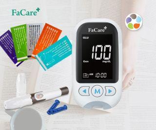 Máy đo đường huyết, gout, mỡ máu 5 trong 1 Facare FC-M168 Bluetooth thumbnail