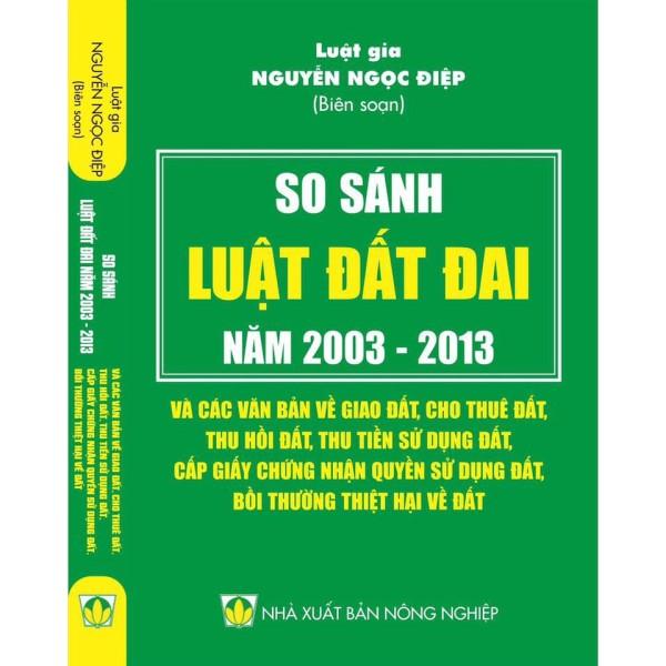 Sách - So sánh Luật Đất đai 2003 - 2013