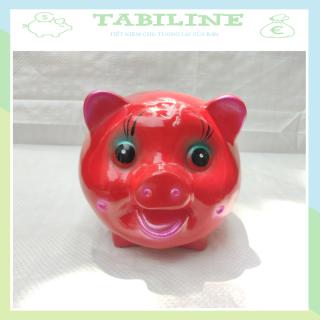 Lợn đất tiết kiệm TABILINE size vừa in logo prudential chất liệu thạch cao không ẩm mốc tiền an toàn sử dụng LD21 thumbnail