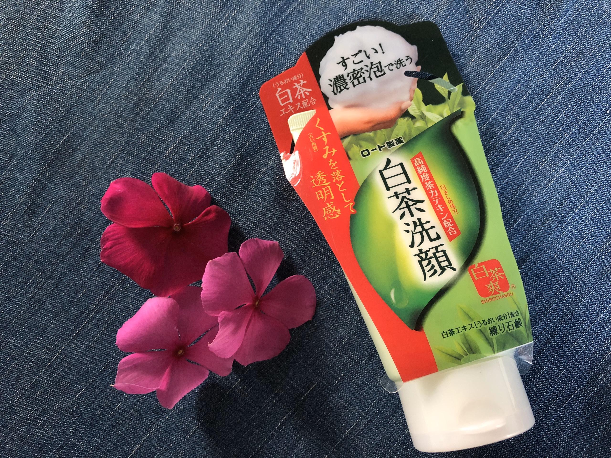 Sữa rửa mặt trà xanh Rohto Shirochasou green tea cao cấp