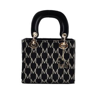 Túi xách nữ đeo chéo Nutushop chất liệu da phối họa tiết hàng hiệu cao cấp - NT33 thumbnail