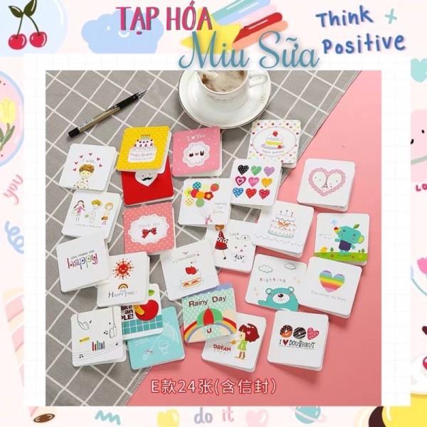 Thiệp mini in hình cute - MiuSua