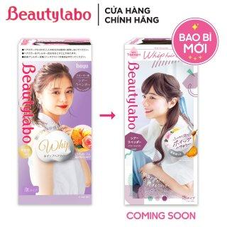 Thuốc nhuộm tóc tạo bọt Beautylabo 125ml Whip Hair Color Nhật Bản - Màu Tím Khói Lavender thumbnail