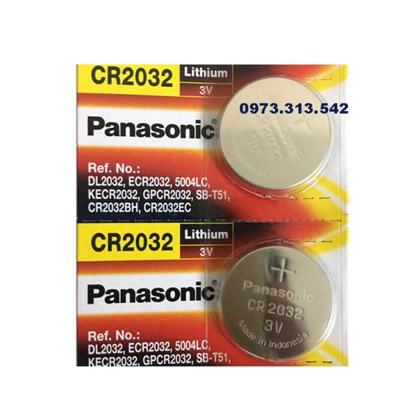 Bảng giá Pin CR2032 Panasonic vỉ 2 viên